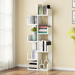 Holli Tree Geometric Bookcase by Latitude Run