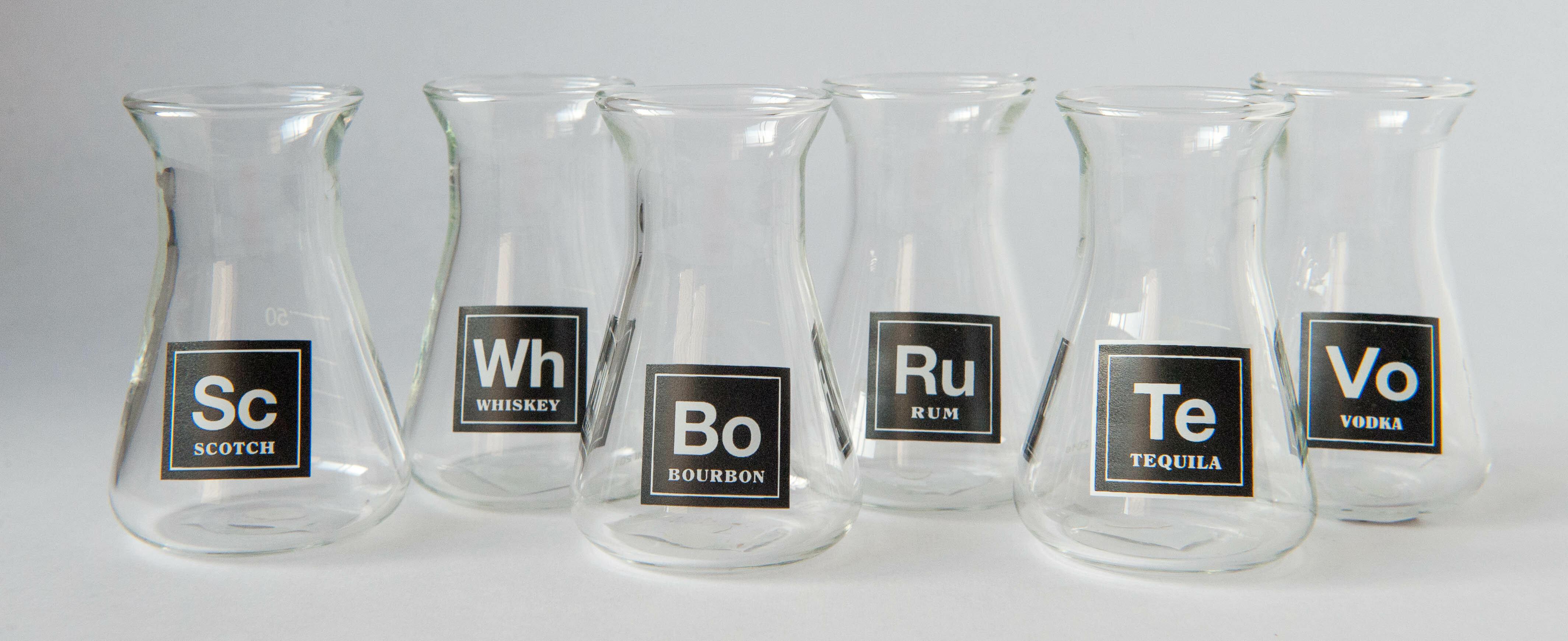 Winston Porter Hiltz Assorted Erlenmeyer Flask 3 Oz Shot Glass Reviews Wayfair