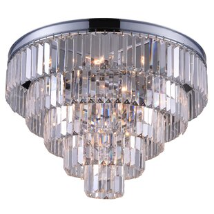 CWI Lighting Weiss 12-Light Flush Mount