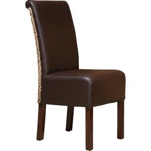 Bloomsbury Market Virginie Wood Parsons Chair (Set of 2)