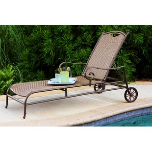 Stonewick Chaise Lounge by Tortuga Outdoor New Design