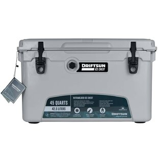 45 Qt. Heavy Duty Ice Chest Cooler by Driftsun