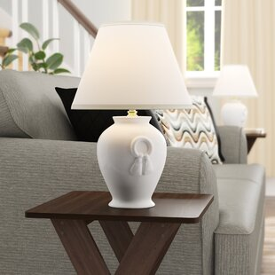 Alejandro Ceramic 17 Table Lamp (Set Of 2) by Grovelane Teen Comparison