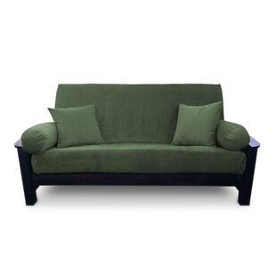 Compare Simoes Zipper Box Cushion Futon Slipcover by Latitude Run Reviews (2019) & Buyer's Guide