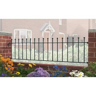 Begonia 6' X 2' (1.83m X 0.45m) Fence Panel By Rosalind Wheeler