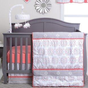 Read Reviews Vandergriff 3 Piece Crib Bedding Set ByHarriet Bee