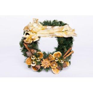 25cm Christmas Wreath By The Seasonal Aisle