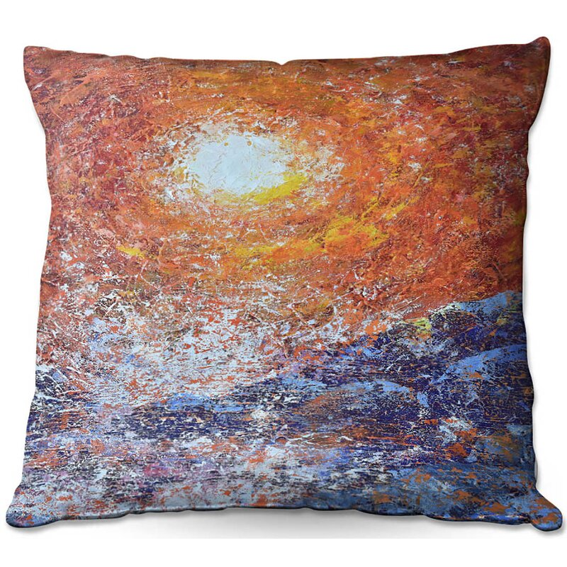 East Urban Home Couch Splash Throw Pillow Wayfair