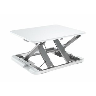 Symple Stuff Kelston Ergonomic Lock Mechanism Sit to Stand Up Workstation Standing Desk Converter
