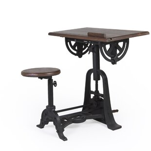 Deborah Height Adjustable Desk And Chair Set By Williston Forge