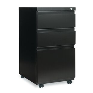 3-Drawer Mobile Pedestal File