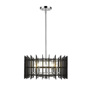 Ivy Bronx Bedgood 5-Light Drum Pendant