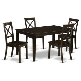 Cabos 5 Piece Dining Set East West Furniture