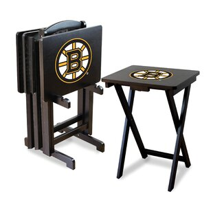 NHL TV Trays with Stand (Set of 4) ByImperial International