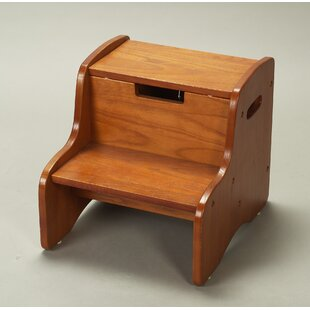Step Stool with Storage by Gift Mark