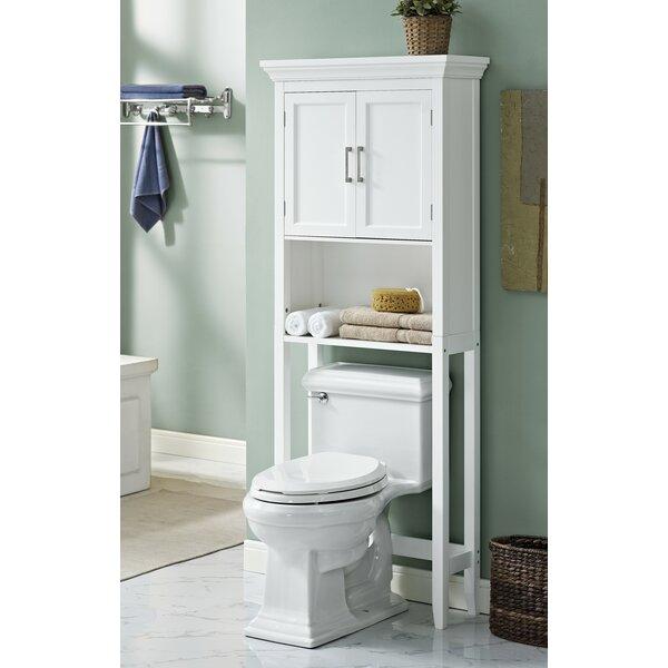 "Simpli Home Avington 27"" W x 67"" H Over the Toilet Storage & Reviews | Wayfair"