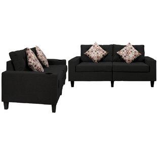 Elger 2 Piece Living Room Set by Latitude Run