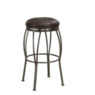 Loon Peak Vandemere Adjustable Height Swivel Bar Stool