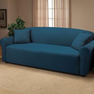 Floral Box Cushion Sofa Slipcover by Winston Porter