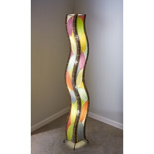 Reviews Wave Giant 72 Novelty Floor Lamp By Eangee Home Design