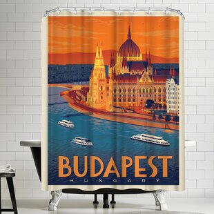 Anderson Design Group Hungary Budapest Single Shower Curtain