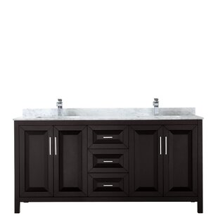 Daria 72 Double Bathroom Vanity Set by Wyndham Collection