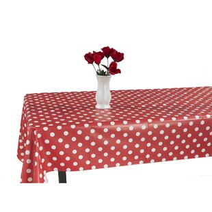 Red Vinyl Tablecloth | Wayfair
