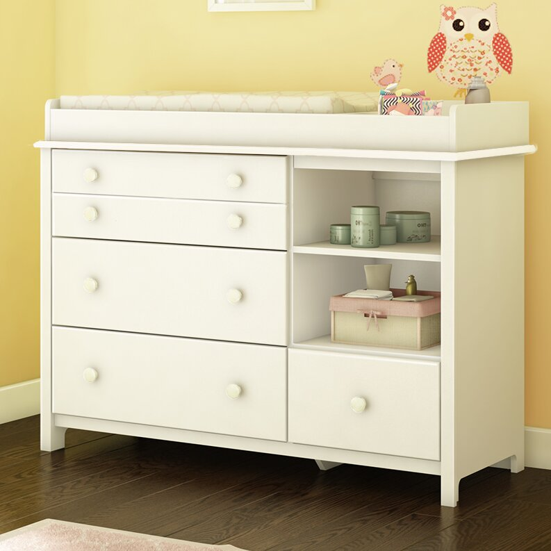 South Shore Little Smileys Changing Table Dresser