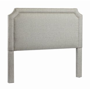 Manor Upholstered Panel Headboard by Leffler Home