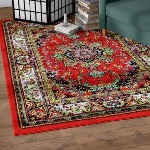 Dunlap Red Indoor/Outdoor Area Rug Great price