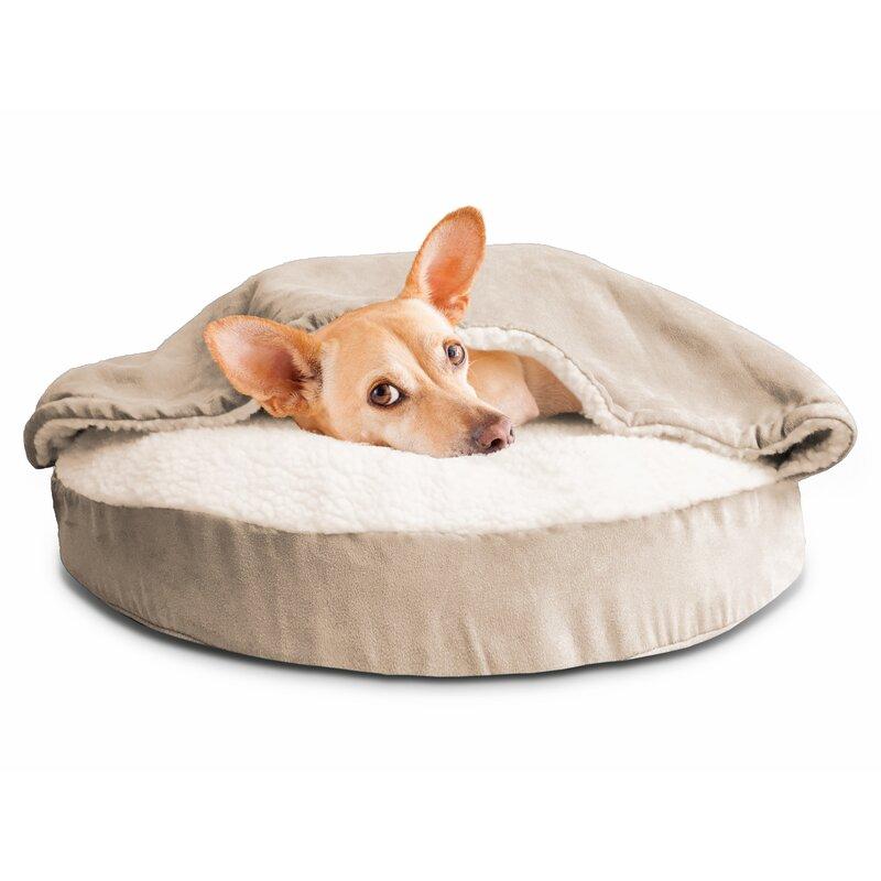 Fern Snuggery Hooded Dog Bed