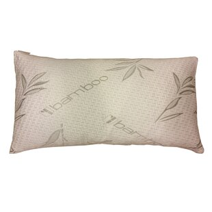 D-Art Collection Rayon from Bamboo Hypoallergenic Memory Foam Pillow