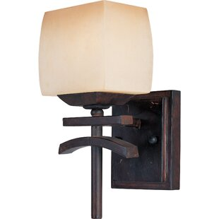Compare & Buy Plummer 1-Light Wall Sconce By Loon Peak