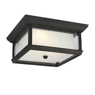 Schill 2-Light LED Outdoor Flush Mount