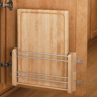 Cabinet Door Mount Wood Cutting Board by Rev-A-Shelf