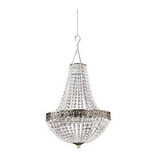 Renaissance 1-Light Crystal Pendant by Zappobz