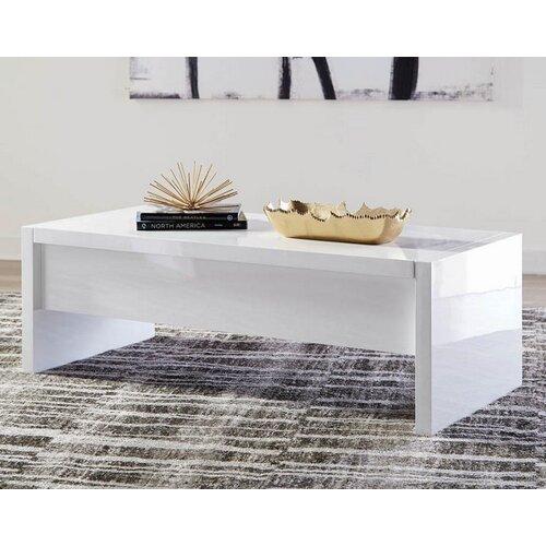Orren Ellis Stilwell Coffee Table With Storage Wayfair