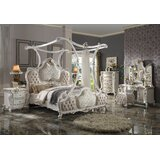 Valparaiso Canopy Solid Wood Configurable Bedroom Set by One Allium Way