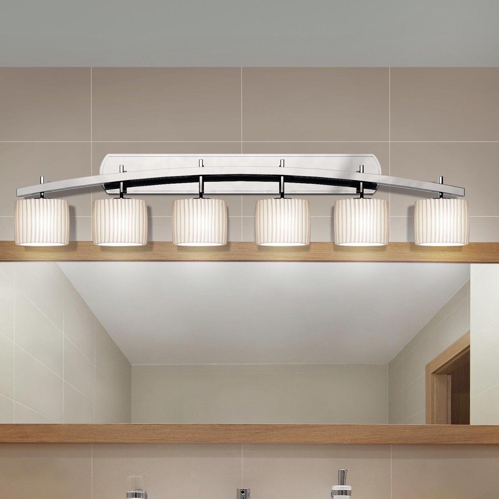 Brayden Studio Darrien Archway Oval 6 Light Vanity Light Wayfair