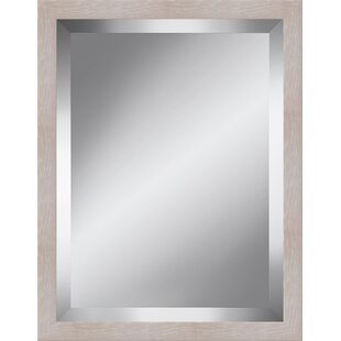 Orren Ellis Frame Beveled Plate Accent Mirror