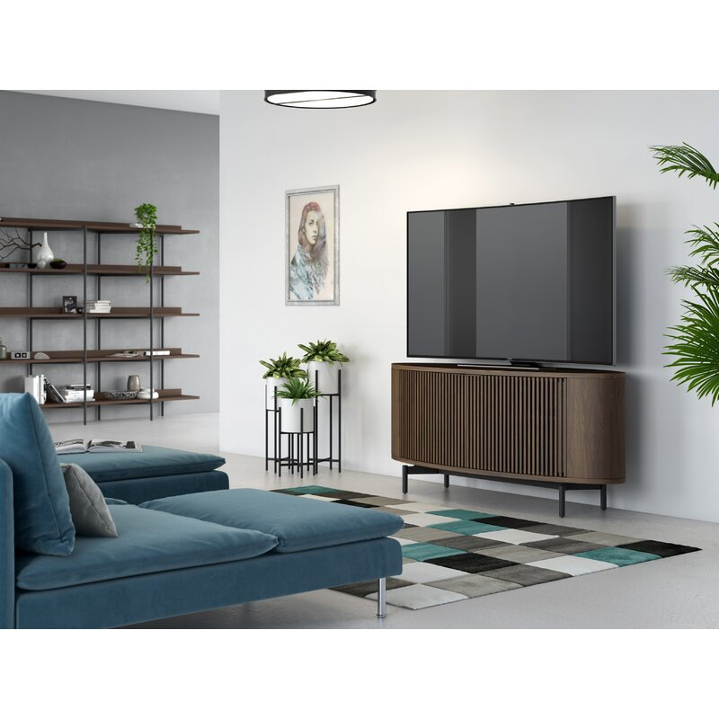 """BDI Olis TV Stand for TVs up to 65"""""""