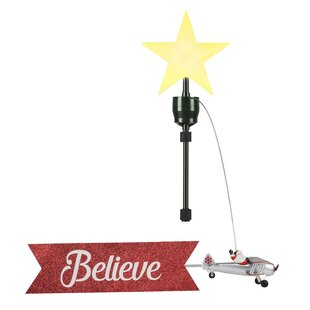 Animated Tree Toppers Christmas Ornaments You Ll Love In 2020 About 0% of these are christmas decoration supplies, 14% are event & party supplies, and 2% are wedding decorations & gifts. wayfair