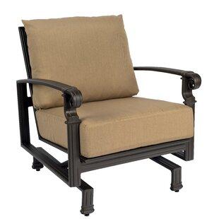 Woodard Spartan Spring Patio Chair with C..