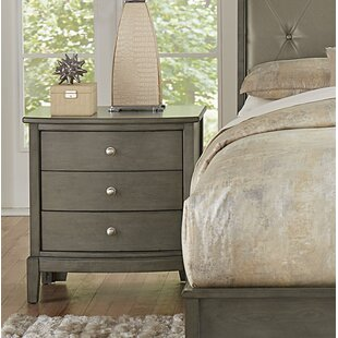 Jeffries 3 Drawer Nightstand