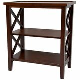 Architectural Etagere Bookcase by Oriental Furniture