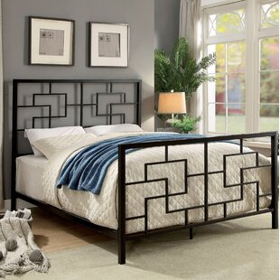 Wrought Studio Giltner Geometric Queen Panel Bed