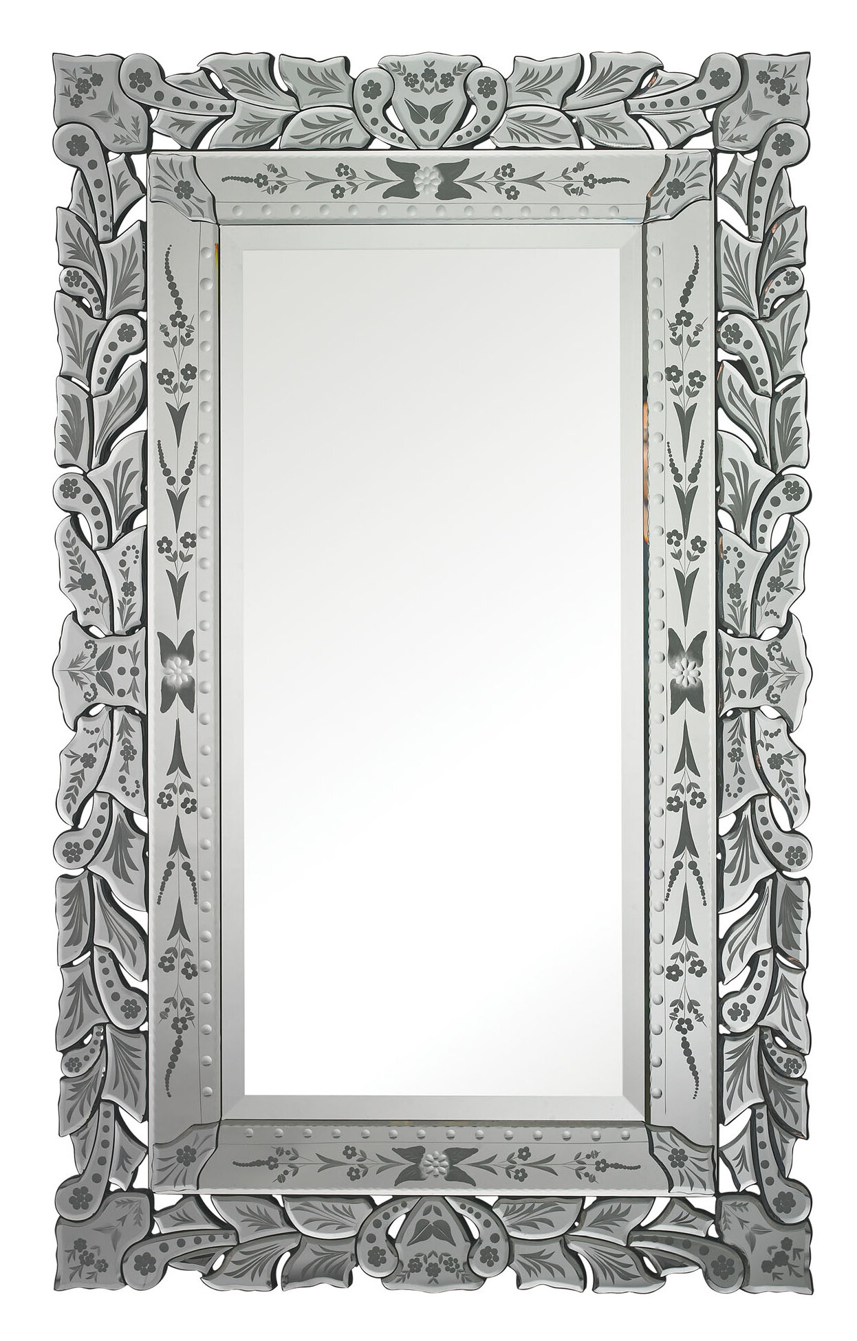 Astoria Grand Abbotsbury Venetian Accent Mirror | Wayfair