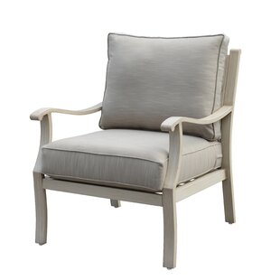 Darby Home Co Caressa Aluminum Outdoor Club Chair