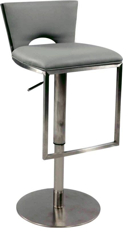 Marvelous Adjustable Height Swivel Bar Stool