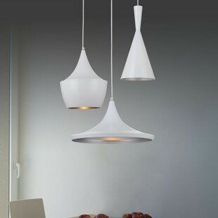 Wrought Studio Akiva 1-Light Cone Pendant